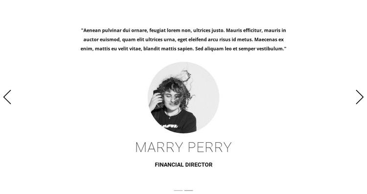 Art studio testimonials HTML5 Template