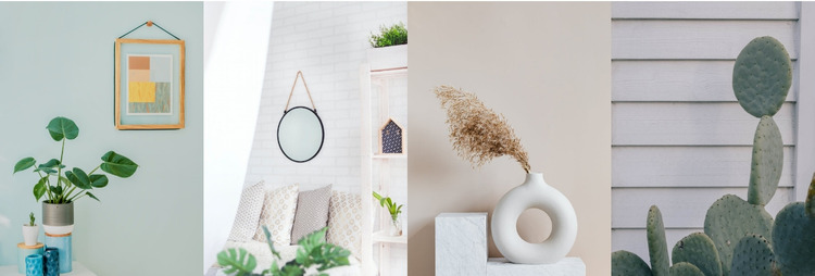 Interior ideas Website Mockup