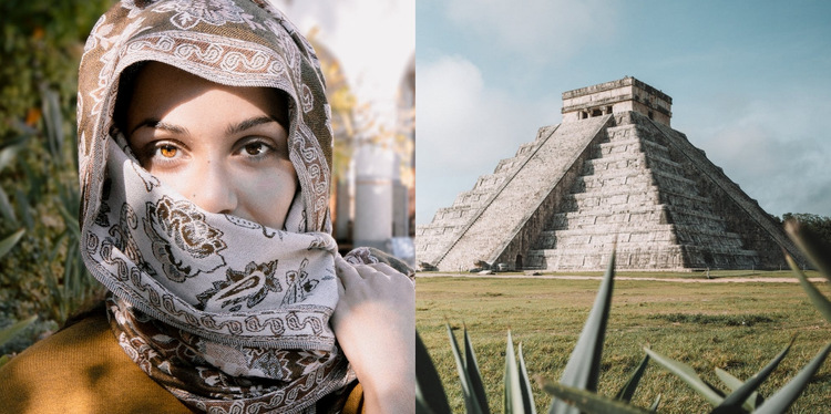 Travel landscape  WordPress Website