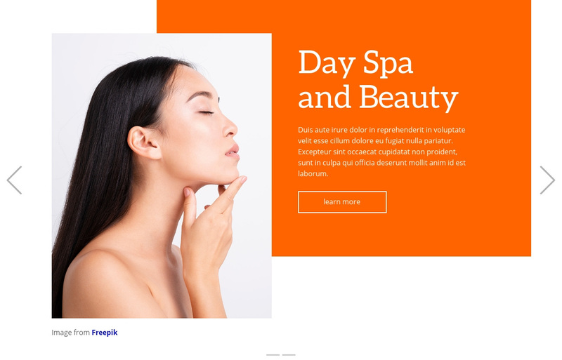 Massage therapy Web Page Design