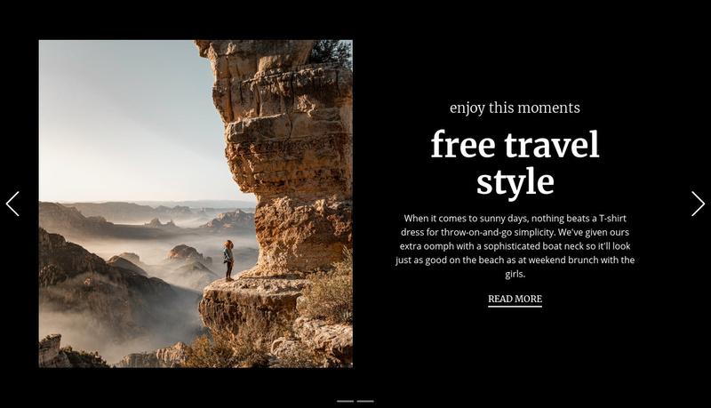 One step for freedom Website Maker