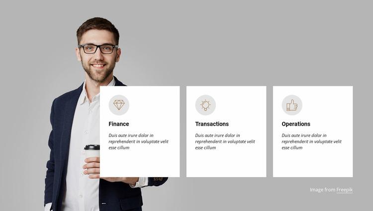 Accelerating your business Website Mockup