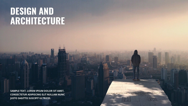 We build cities HTML5 Template
