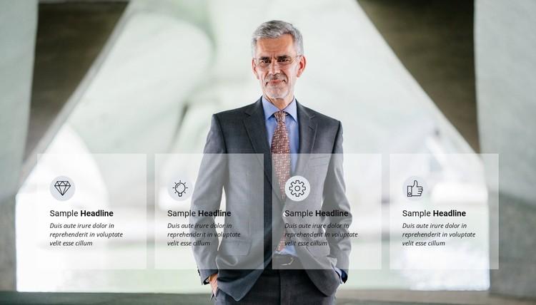 Business success WordPress Template