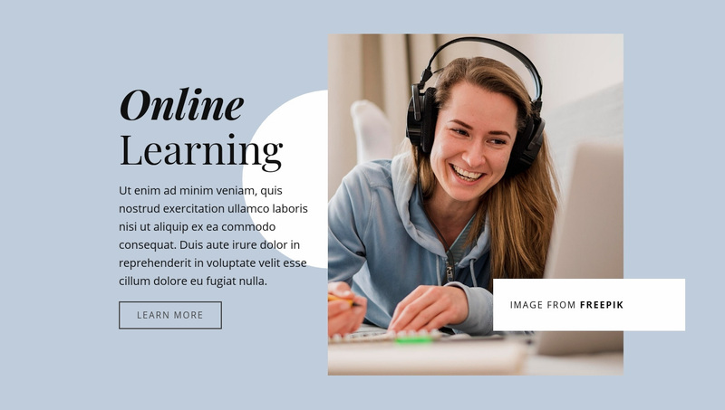 Strengthen your business skills Website Creator
