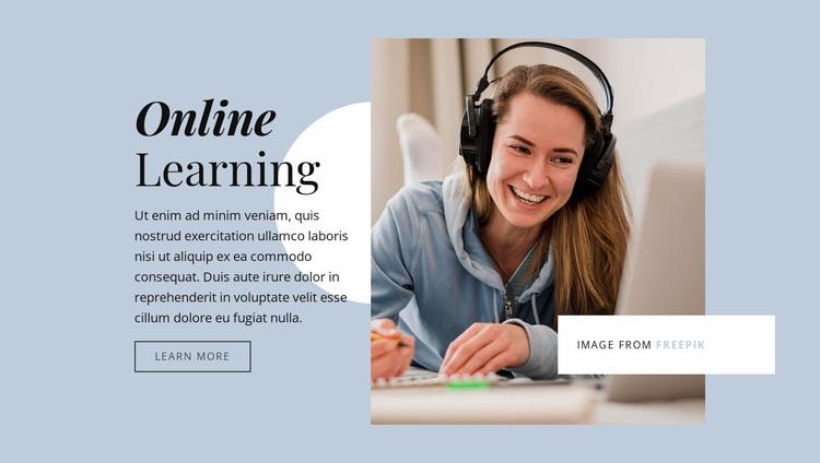 Strengthen your business skills Website Design