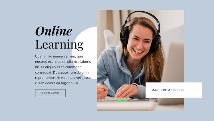 Strengthen your business skills Website Mockup