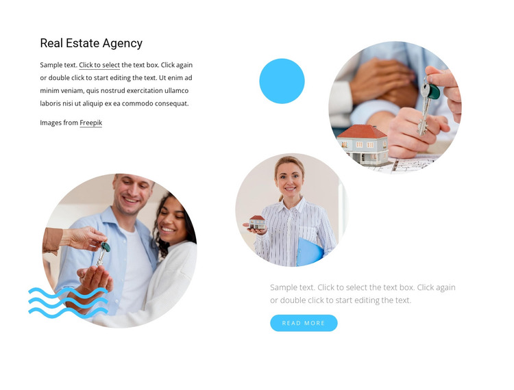 Your personal real estate consultant HTML Template