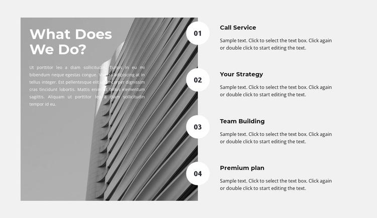 Development plan Website Template