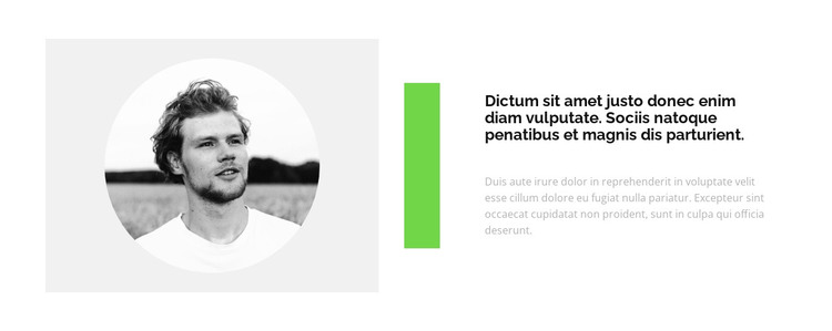 We create comfortable conditions HTML Template