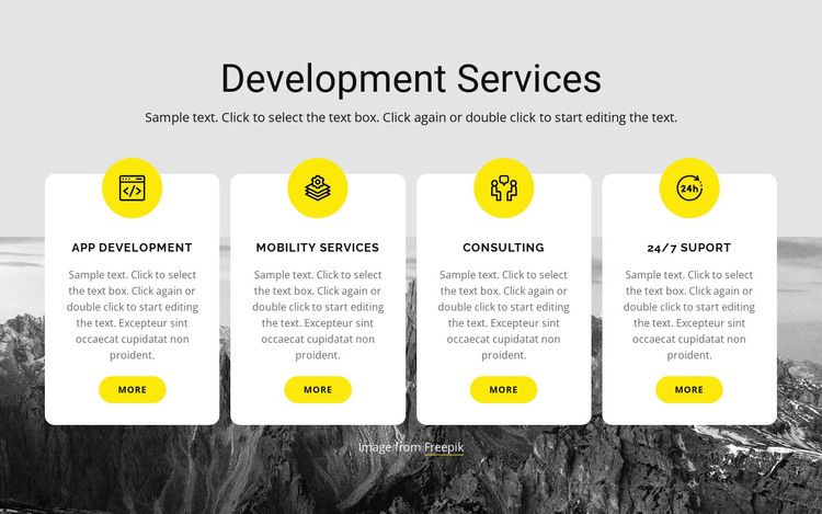 Studio is a global consultancy HTML Template
