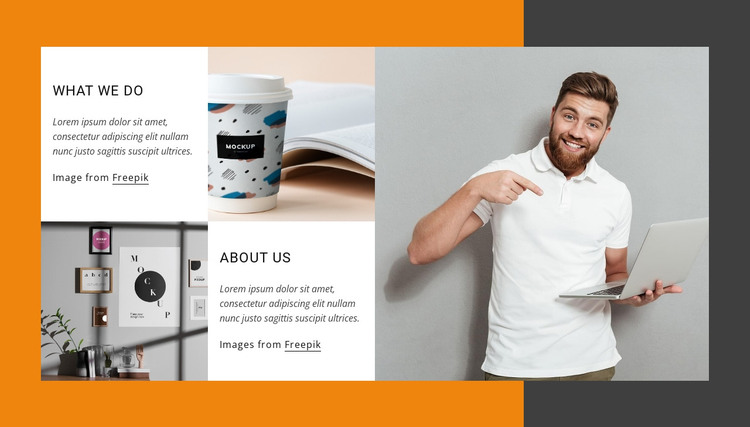 Leader in digital experiences HTML Template
