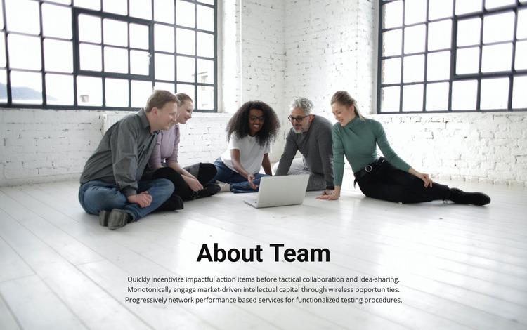 About coach team Website Maker