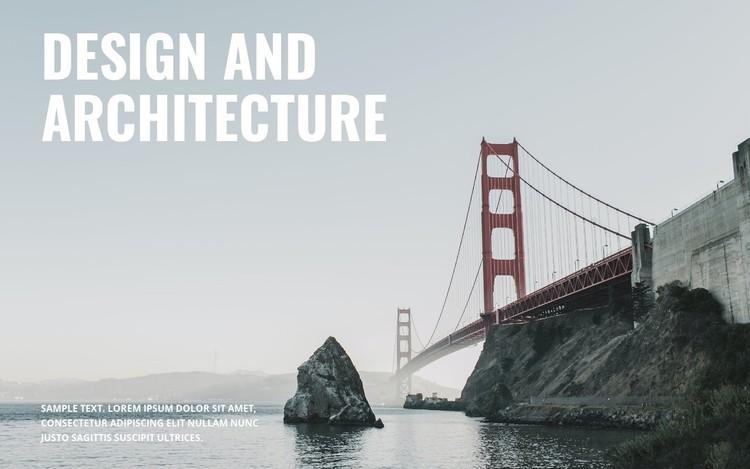 We build bridges Static Site Generator