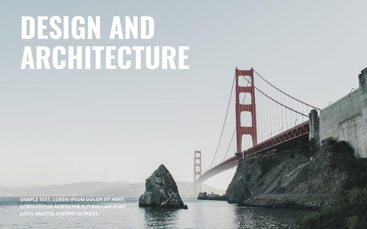 We build bridges Website Builder Software