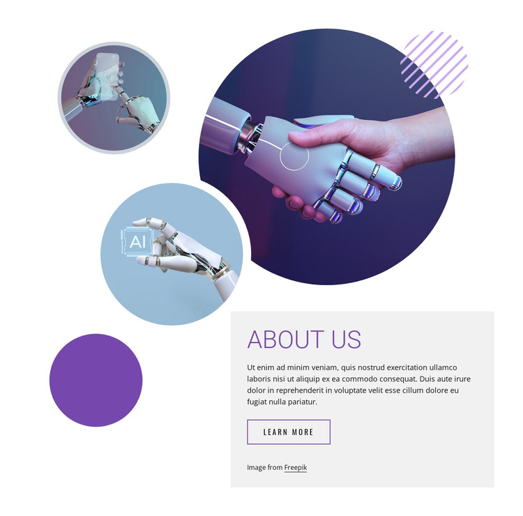 Neural networks and robotics HTML Template