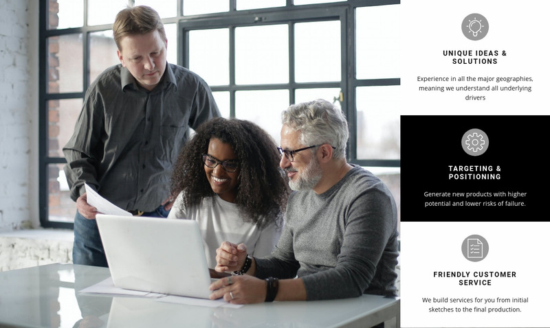 We provide services Web Page Designer