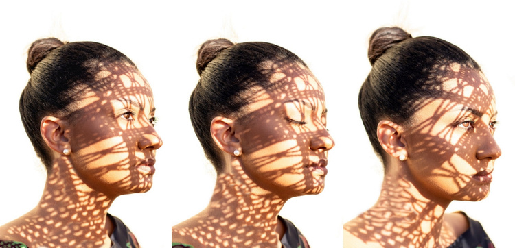 Fashion woman face Joomla Template