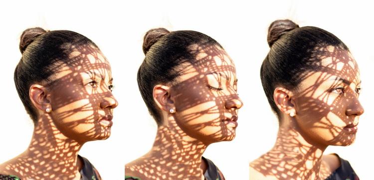 Fashion woman face Website Design
