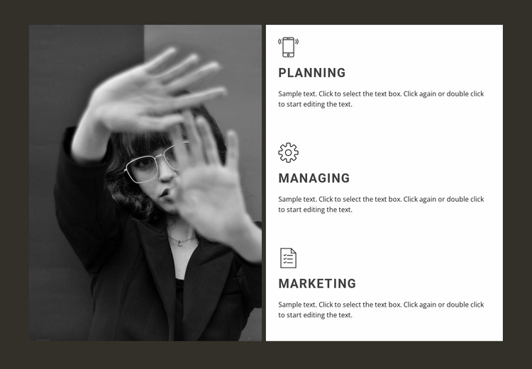 Our directions in business WordPress Website Builder