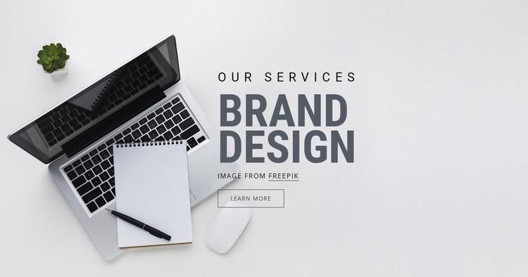 Brand Design HTML Template