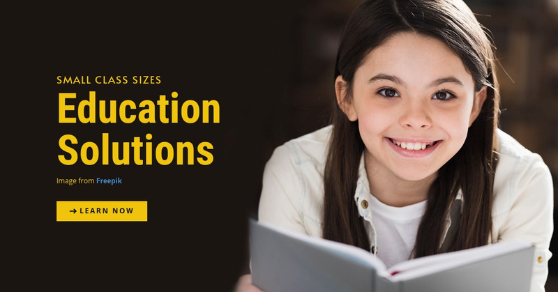 Education Solutions Web Page Design