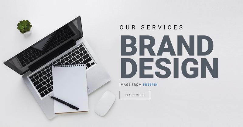 Brand Design Web Page Designer