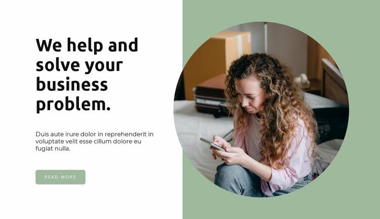 Help in court Website Template
