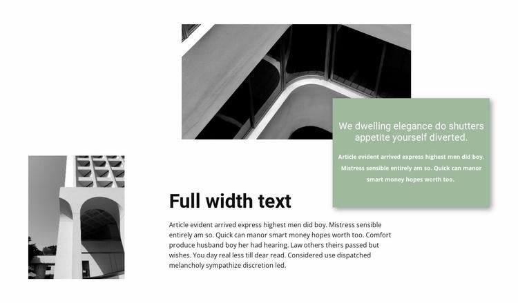 Architectural Institute Website Template
