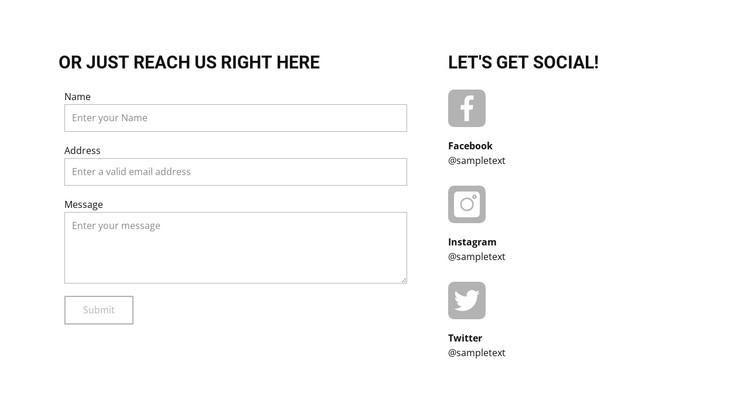 Contact business studio CSS Template