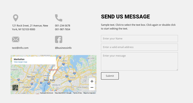 Contact our agency HTML5 Template