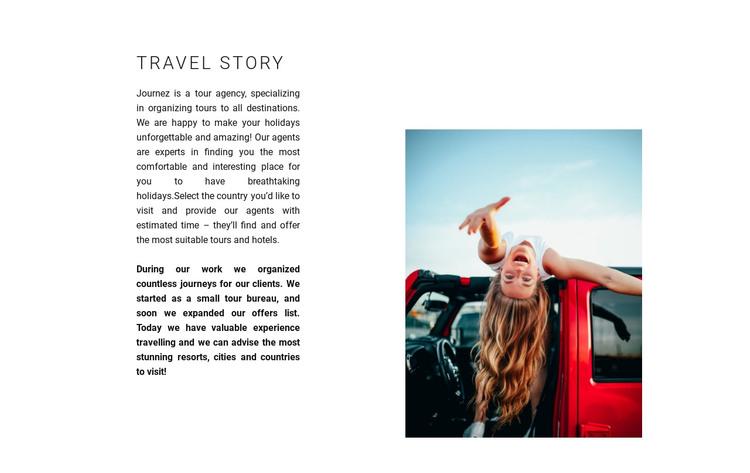 Travel organization HTML Template