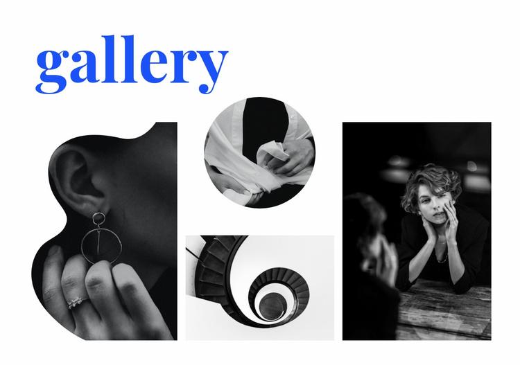 Gallery of unusual photos Website Template
