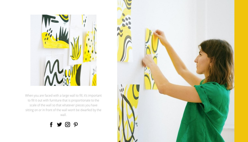 Art therapy Web Page Design