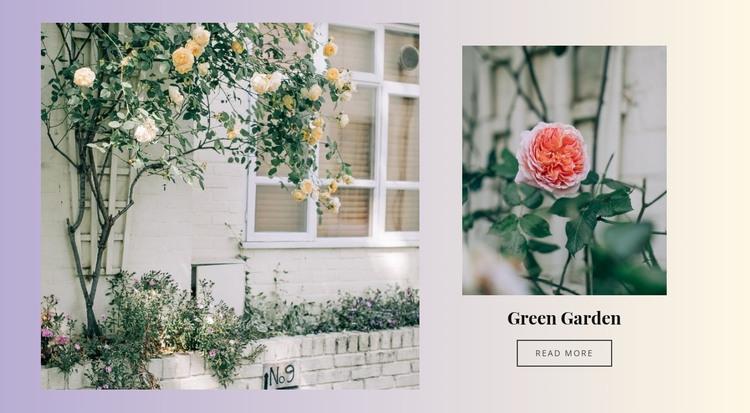 Green Garden HTML Template