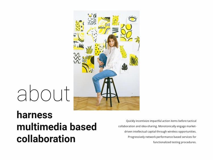 About fashion gallery WordPress Website Builder