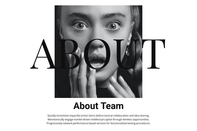About fashion team Website Builder Software