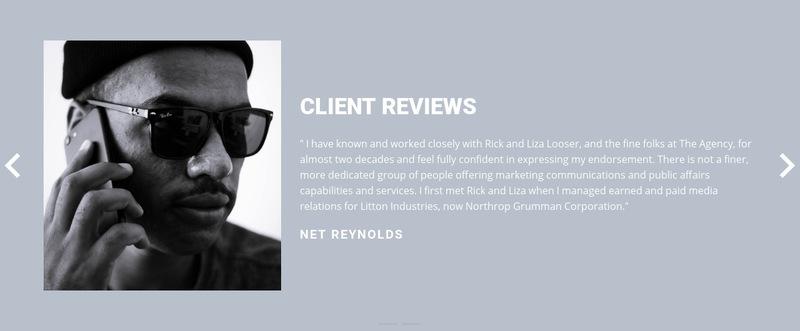 Client review  Web Page Designer