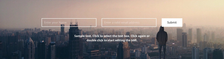 We are waiting for your letters HTML5 Template