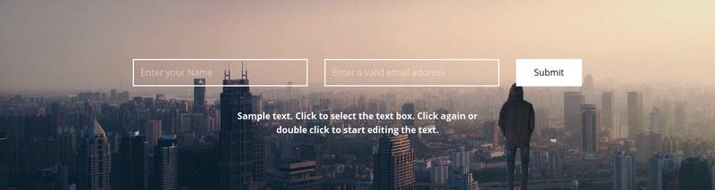 We are waiting for your letters Web Page Design
