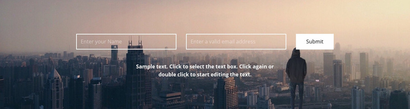 We are waiting for your letters Website Creator