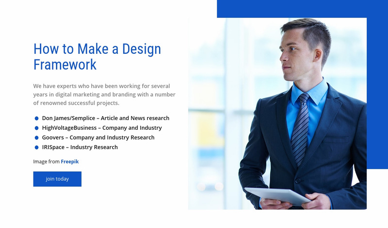 Our management consulting services Web Page Designer