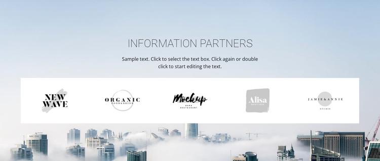 Meet our partners Web Design