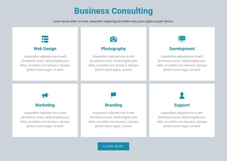 Business Consulting CSS Template