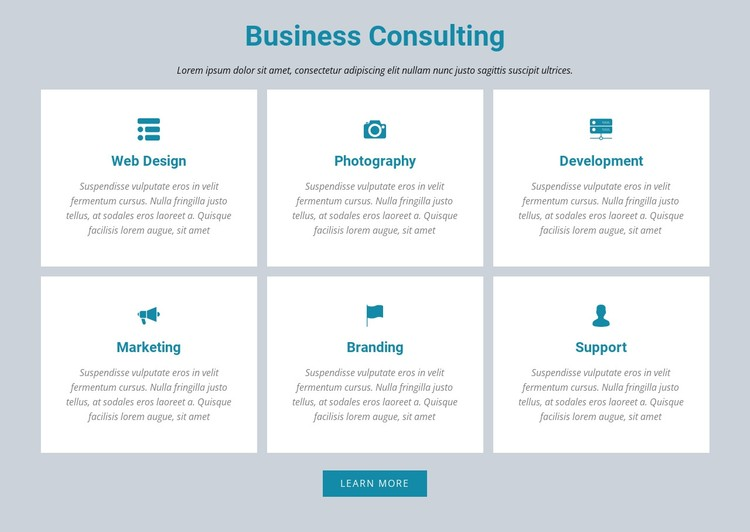 Business Consulting Static Site Generator