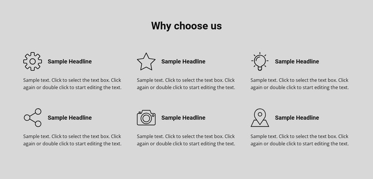 Our consulting services Template