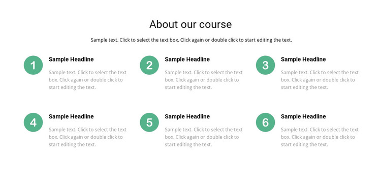Course list Woocommerce Theme