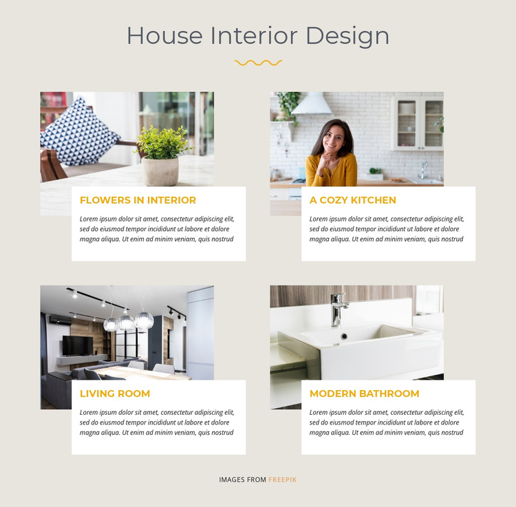 House Interior Design Joomla Template