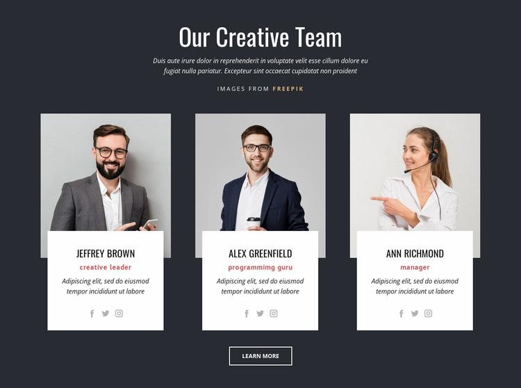 Branding experts Website Builder
