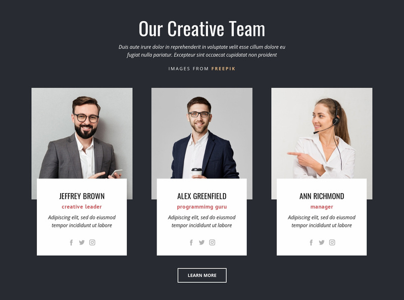 Branding experts Website Creator